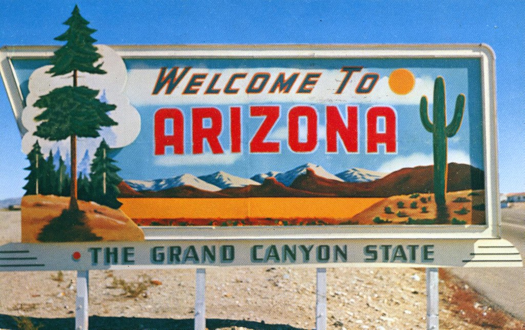 Arizona State Highway Sign Signs Such As This Colorful