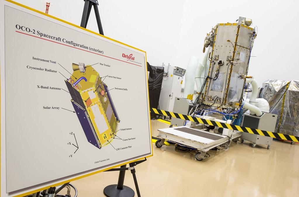 NASA Administrator Views OCO-2 Satellite (201308090005HQ ...