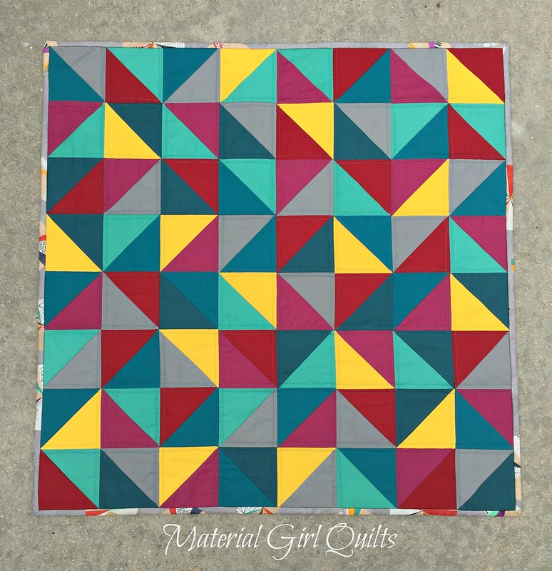 Kaleidoscope of Color Quilt