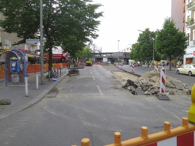 Redesigning Maaßenstraße