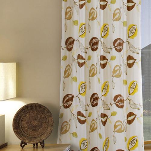 果實(獨家) 趣味花卉 半遮光窗簾布 DA890124