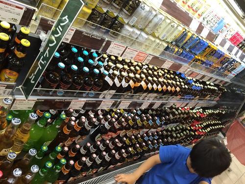 代官山ピーコックのビール売り場