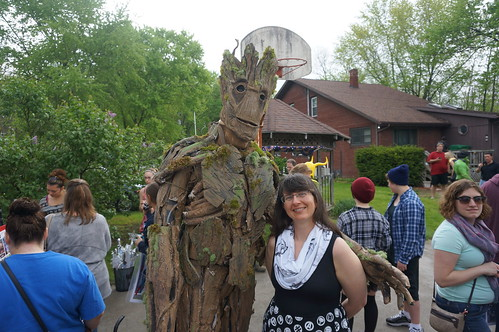Tracey and Groot
