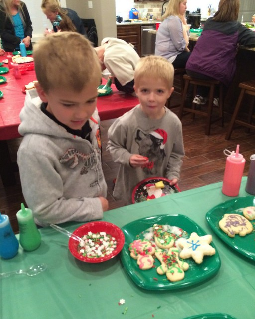 Johnson Christmas Party 20145