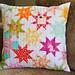 Rainbow Stars pillow