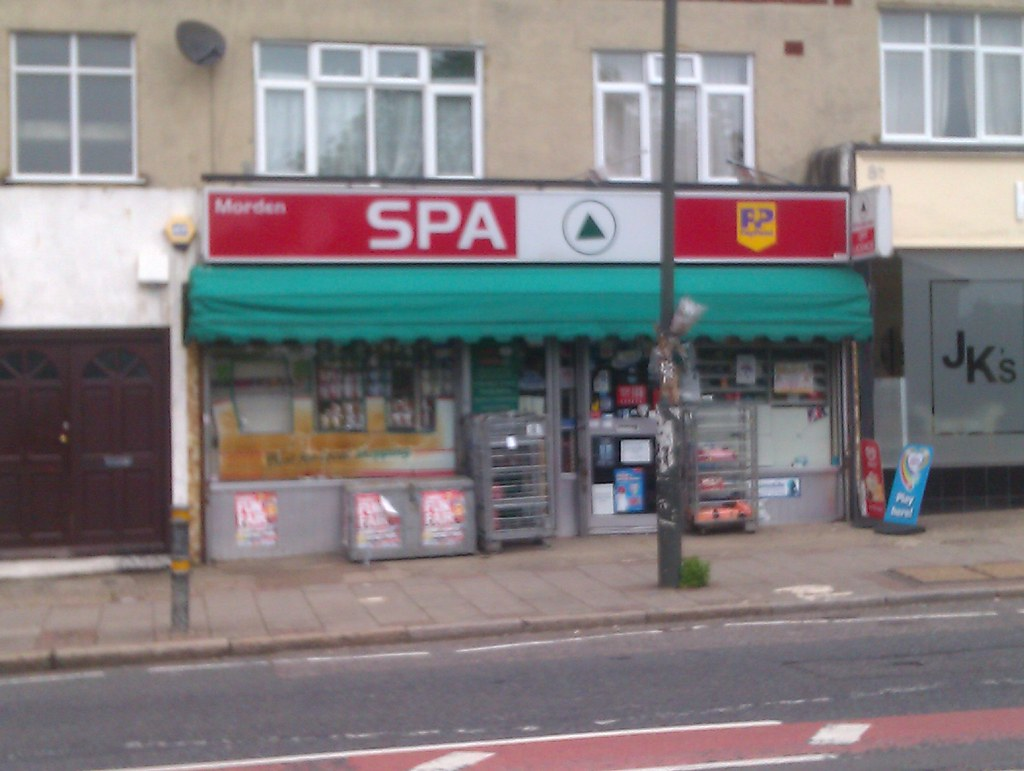 Spa only realised today that this shop is called spa i for 4 dollz only salon