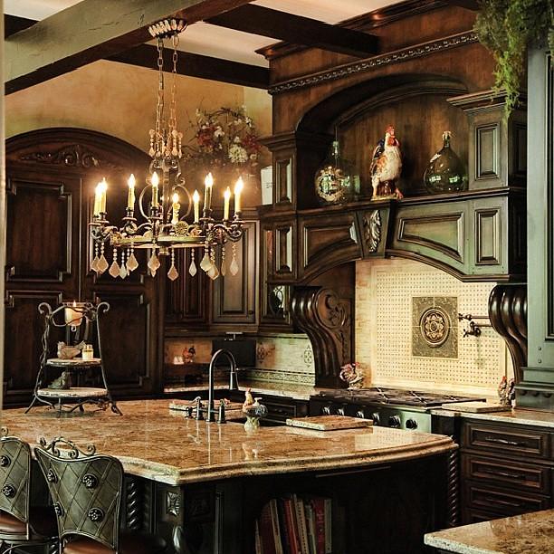Atlanta Living, Black Kitchen! #chef #culinary #kitchen #c