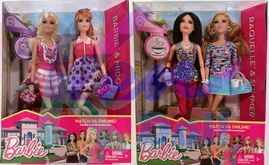 Gift Set Barbie Dolls Life In Dreamhouse 2013 To Learn
