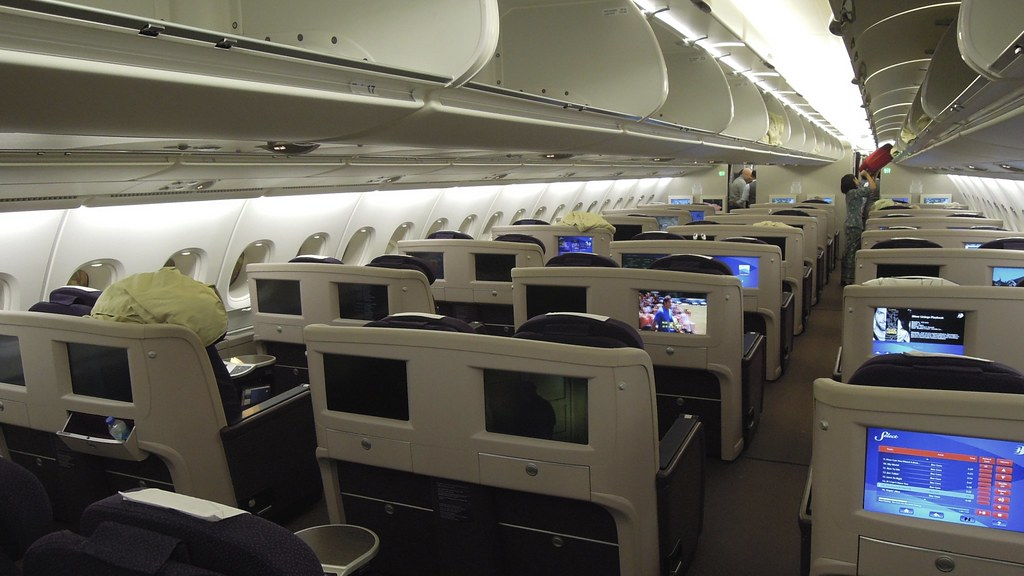 malaysia airlines airbus a380 business class upper deck  h u2026