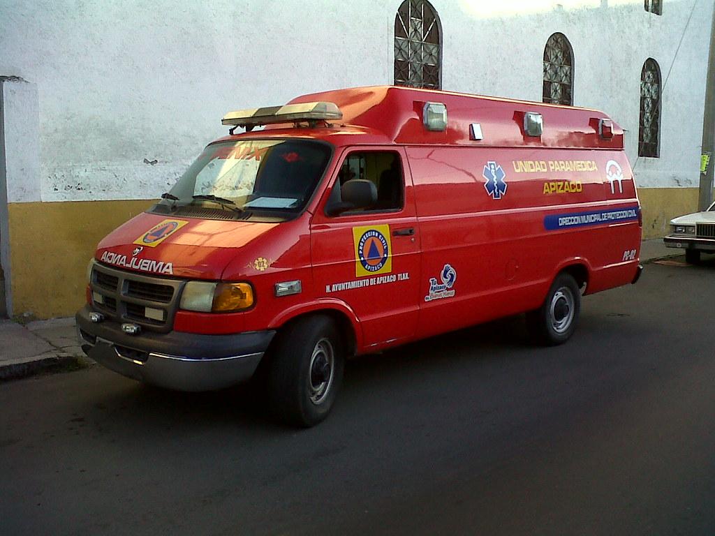 Dodge Ram Ambulance Ambulancia Dodge Ram Van De