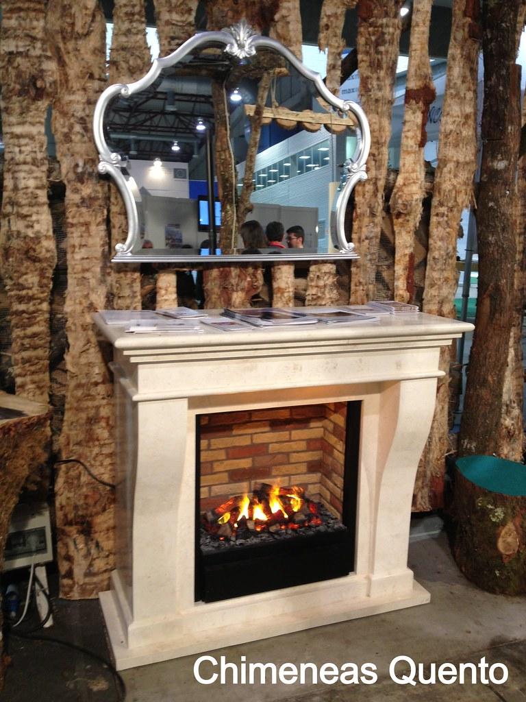 Chimenea kreta de ruby fires showroom - Chimeneas quento ...