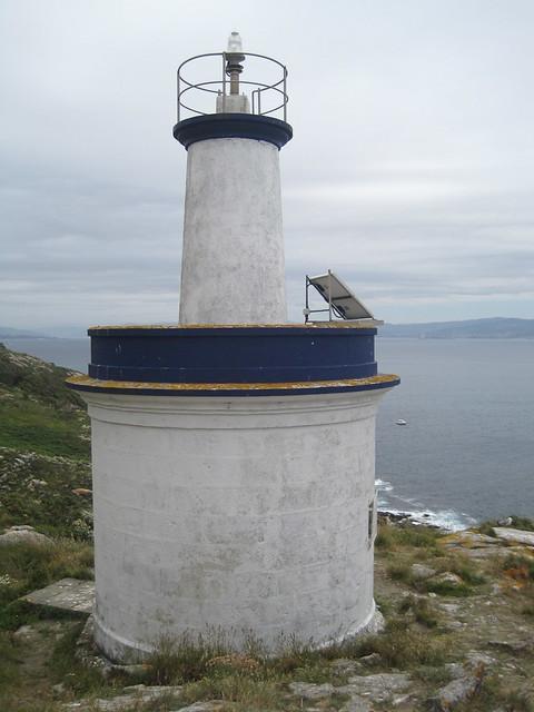 Faro de Porta en las islas Cíes