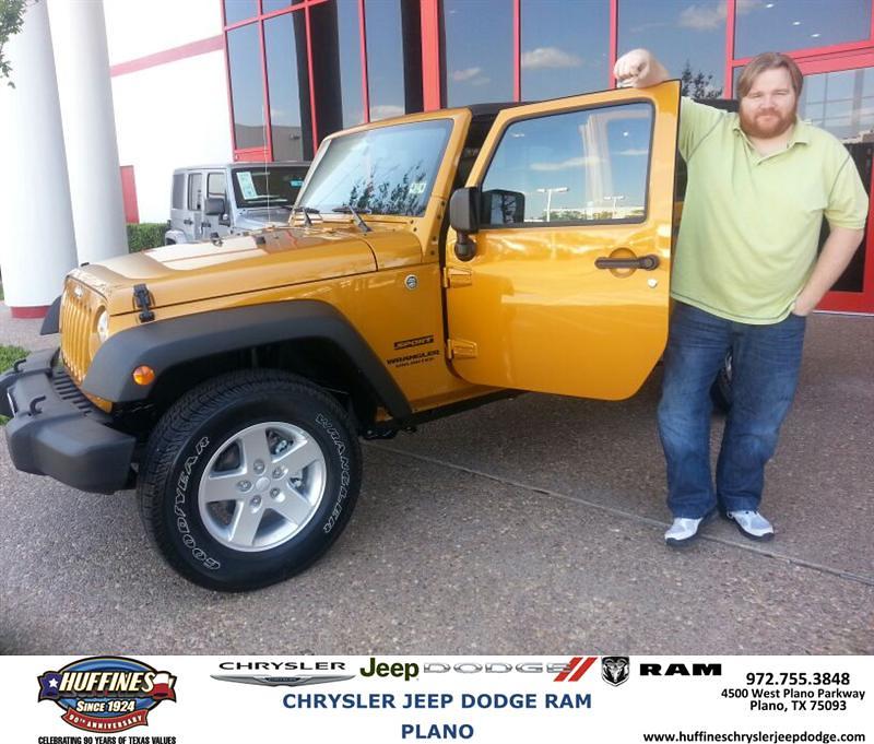 Congratulations To Joseph Lee On Your Jeep Wrangler Unli