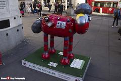 ROBO-SHAUN No.42 - Shaun The Sheep - Shaun in the City - London - 150512 - Steven Gray - IMG_0524