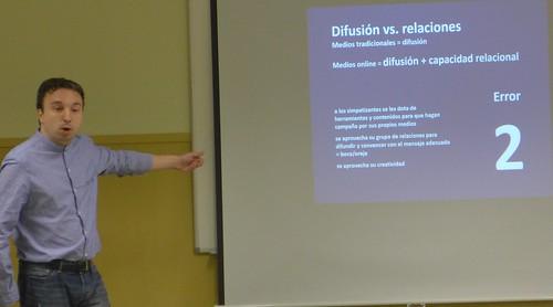 Xavier Peytibi explica los errores de las campañas online
