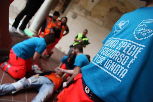 23 maggio 2015: le gare del soccorso del #meetanpas