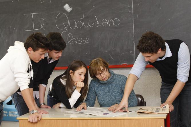 quotidiani in classe