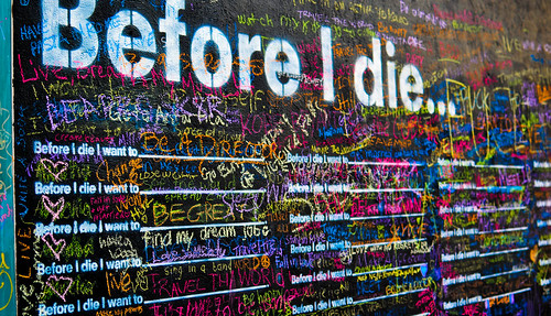 Before I die... | by Jude Z