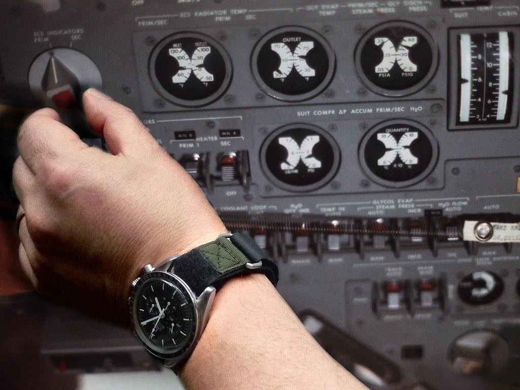 Nasa Velcro Strap For Omega Speedmaster Moon Watch Flickr