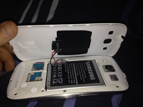 Galaxy S3 wireless charging mod | by rsearley