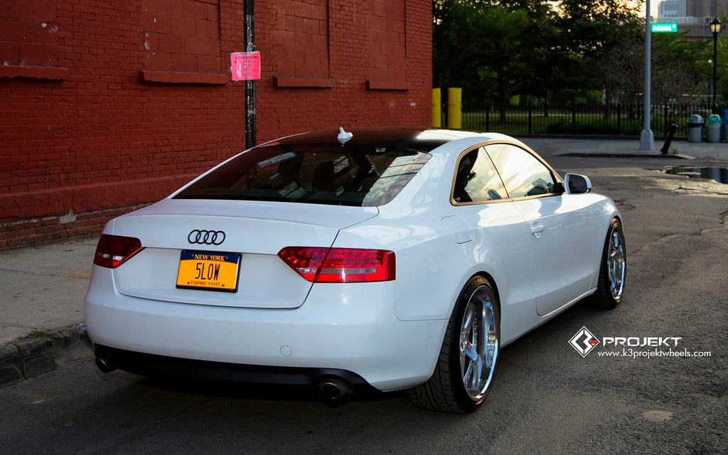 K3 Projekt Wheels Customer Submitted Audi A5 Photo Shoot O