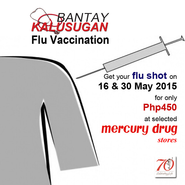 Mercury Drug Flu Vaccination Schedule 2015