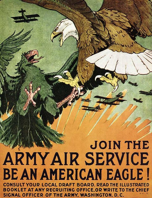 World War II Poster - Join The Army Air Service