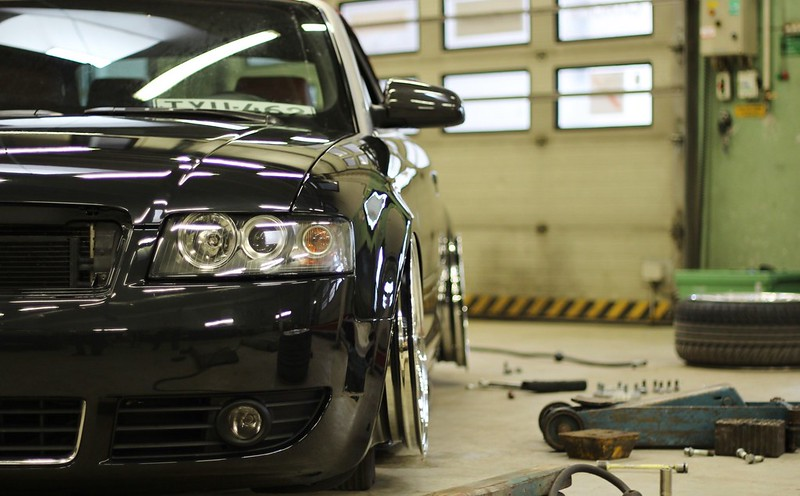 jusni: Audi A4 Bagged Bathtub - Sivu 3 17111172824_113e8d3256_c