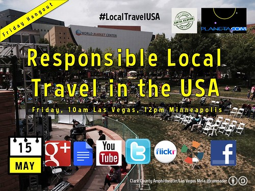 May 15: Responsible Local Travel in the USA Hangout