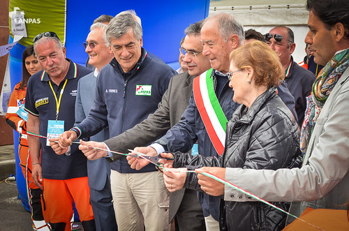 L'inaugurazione del campo base Anpas dedicato ad Amanno Simonelli