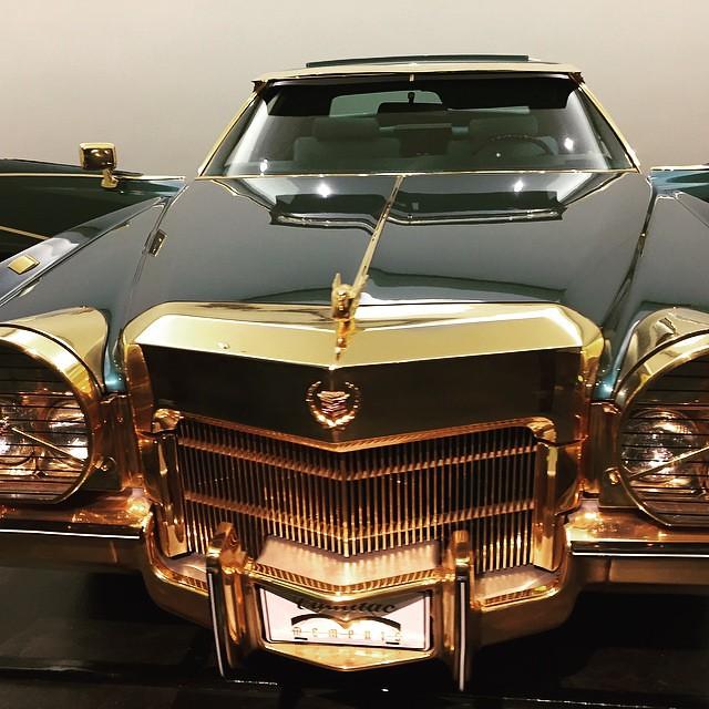 Isaac Hayes' Cadillac #stax #memphis