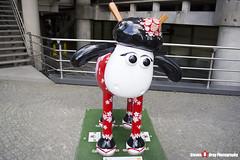 KANZASHI No.40 - Shaun The Sheep - Shaun in the City - London - 150512 - Steven Gray - IMG_0574
