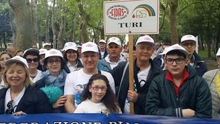 Al centro il presidente Fidas Turi, MIchele Traiano e il vice presidente, Stefano Arrè