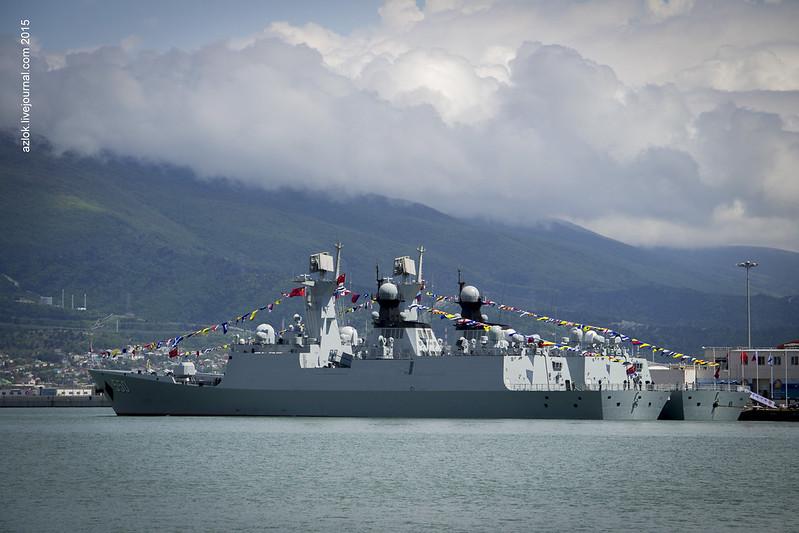 Фрегаты ВМС НОАК