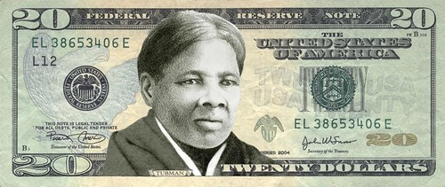 Harriett Tubman note