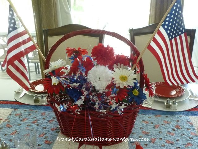 Patriotic Tablescape 6