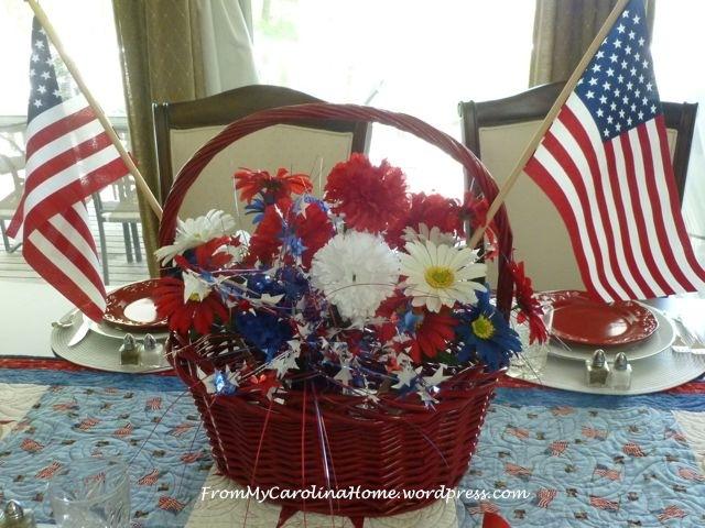 Patriotic Tablescape 6
