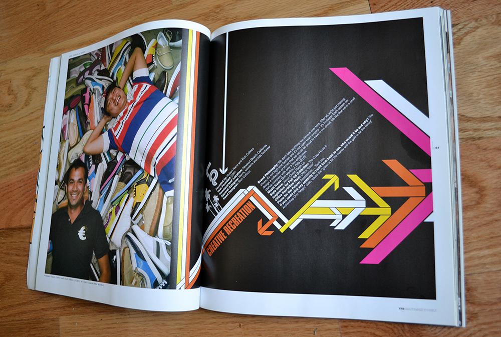 layout for YRB magazine 2