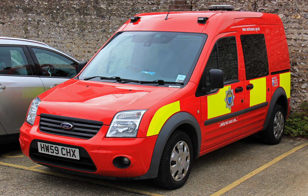 West Sussex Fire Amp Rescue Service Ford Transit Connect Sta