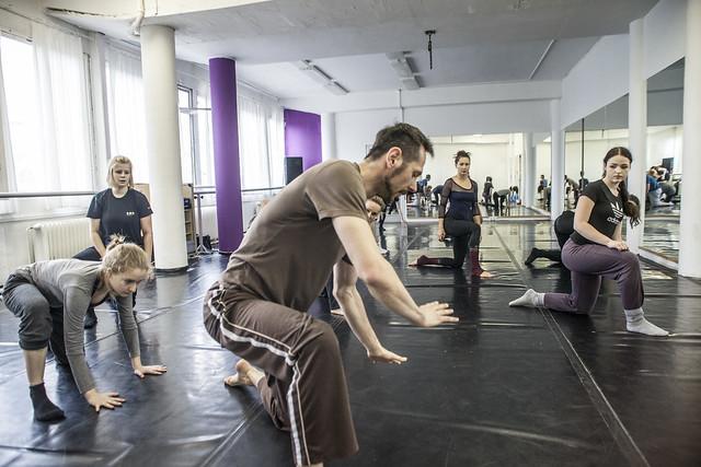 Workshop: Daniel Raček - Contemporary a obrácené pozice těla