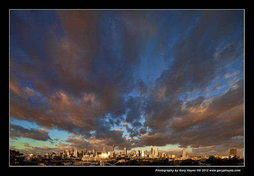 Just before the Lightning Storm - Sydney Australia | by Gary Hayes