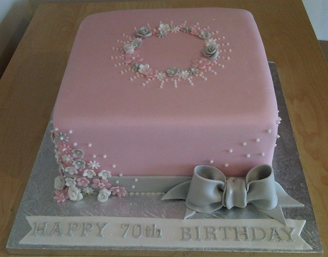 70th birthday cake flickr photo sharing for 70th birthday cake decoration ideas