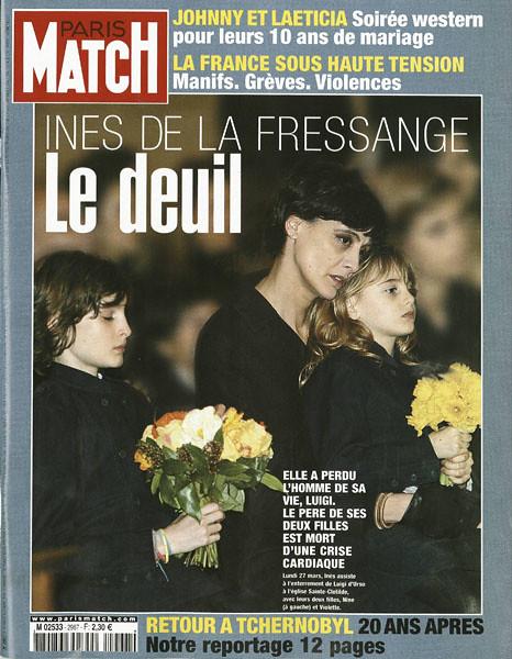 Couverture du paris match n 2967 du 30 mars 2006 ines d flickr - Ines de la fressange filles ...