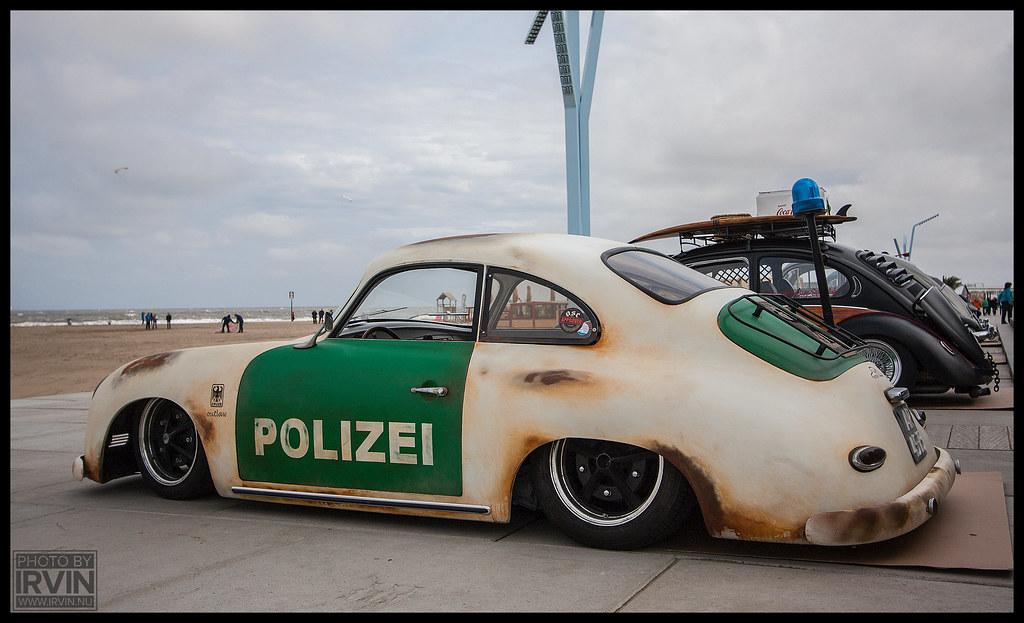Porsche 356 Quot Outlaw Polizei Quot Aircooled Scheveningen Flickr