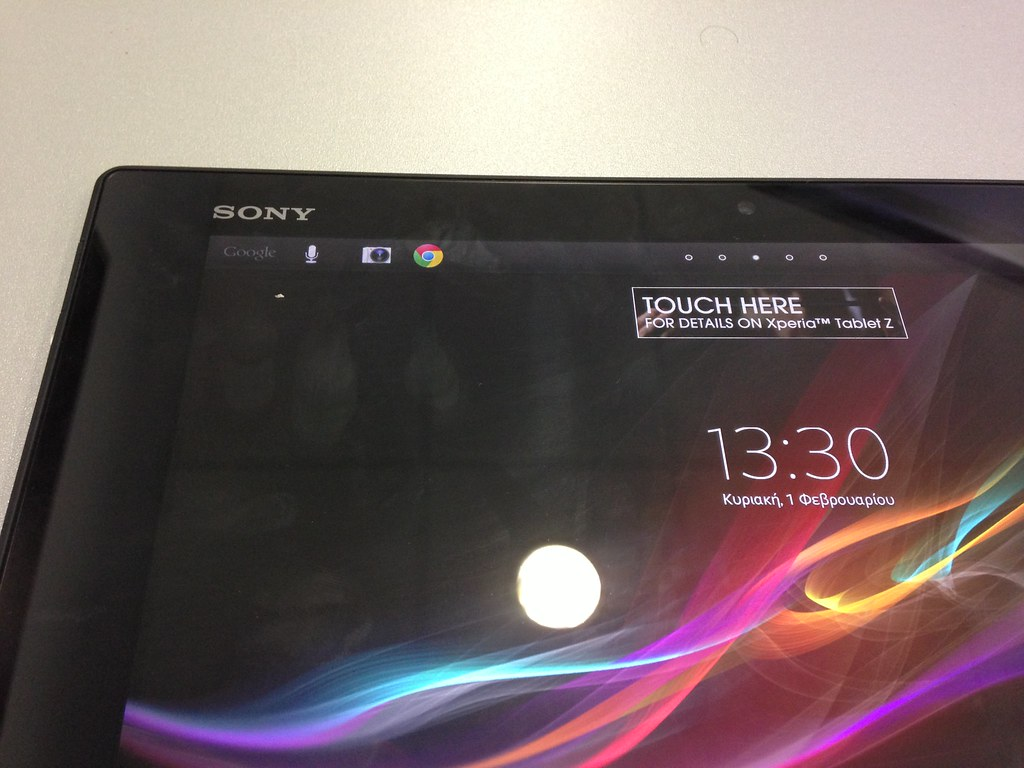 Sony Xperia Tablet Z | Sony Xperia Tablet Z hands on. www ...