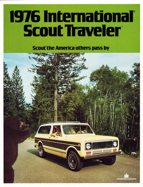 International Scout Traveler Soft Top