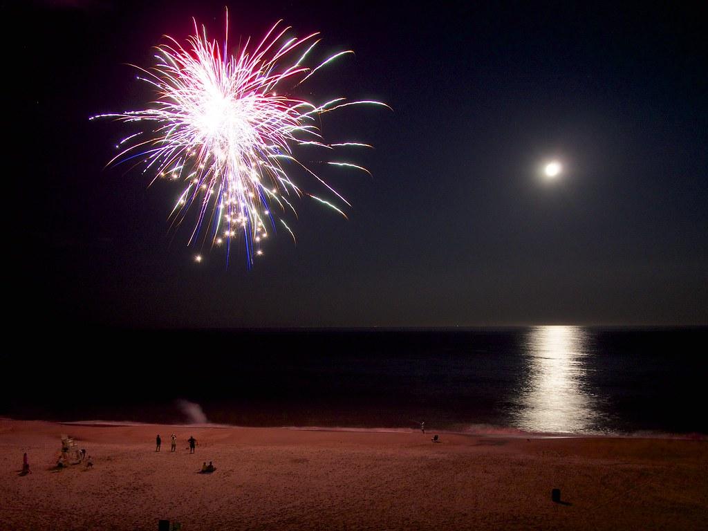 Fireworks At Beach Legal Ocean City Md