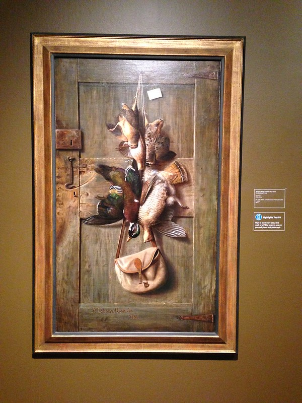 The Huntsman's Door by Richard LaBarre Goodwin, Hunter Museum of American Art, Chattanooga TN