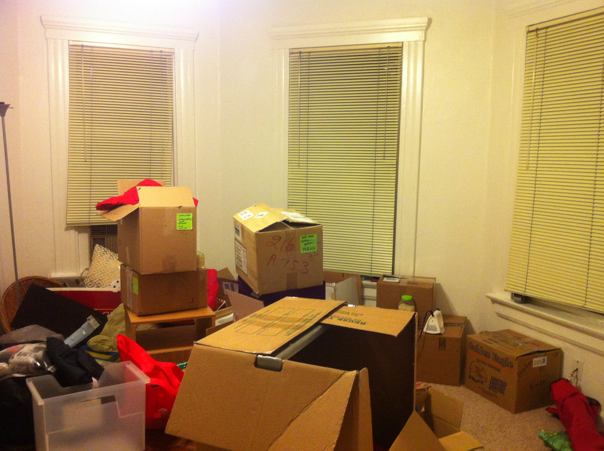 so many boxes!