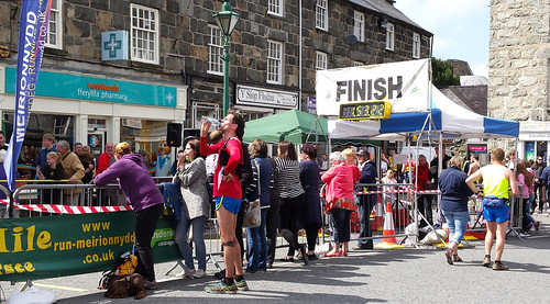 Ras y Gader finish line